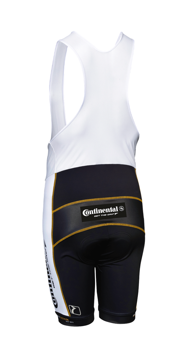 White Bibshorts